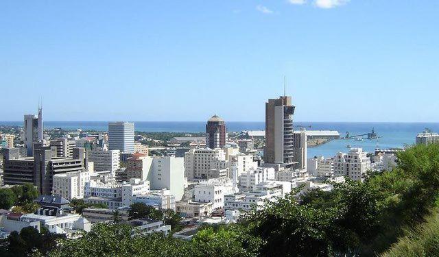 Port Louis, Capital City of Mauritius: Port Louis, Mauritius' capital city, Indian Ocean
