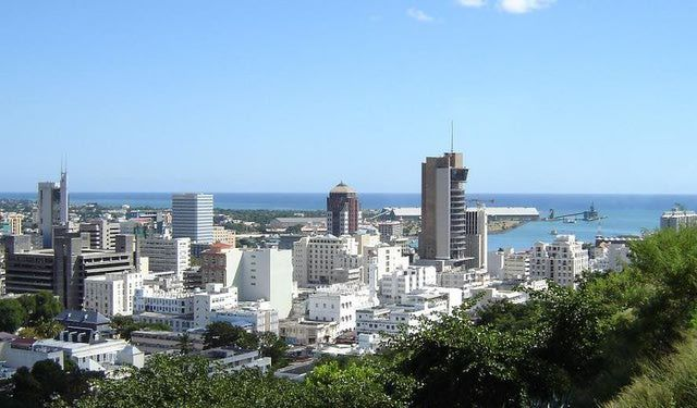 Port Louis, Capital City of Mauritius: Port Louis, Mauritius' capital city, Indian Ocean