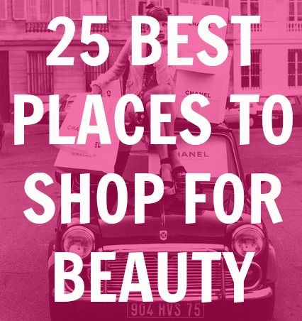 best beauty stores