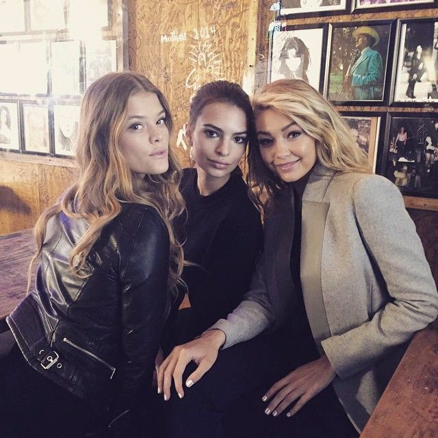Gigi Hadid, Emily Ratajkowski, and Nina Agdal