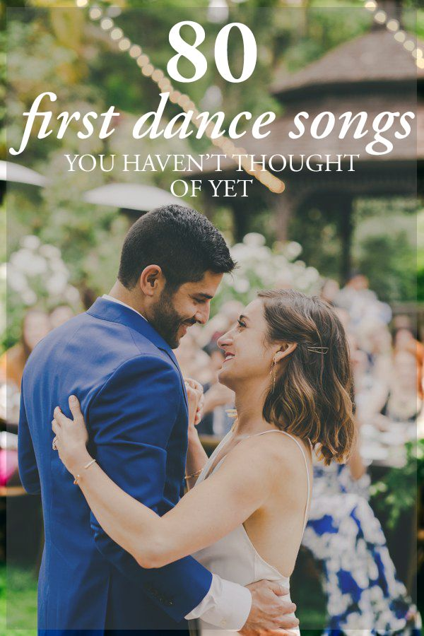 We've rounded up 80 first dance songs by genre that you probably haven't thought of yet! | Photo by Hannah Costello