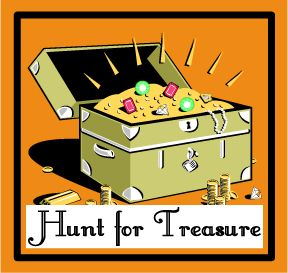 Hunting for Treasure:  A Fun Bible Memory Verse Game for Elementary Children