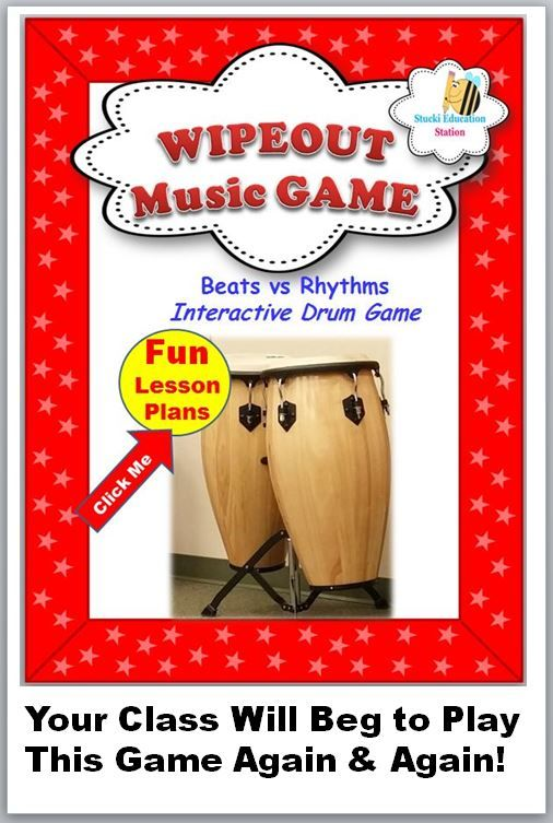 Popular Music Activity! Your class will beg to do this over and over again!!