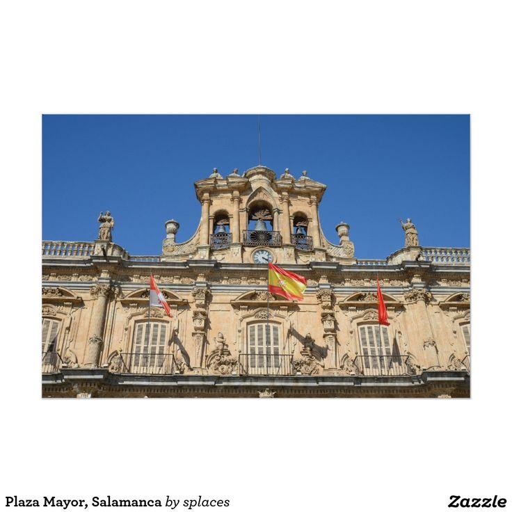 Plaza Mayor, Salamanca Poster