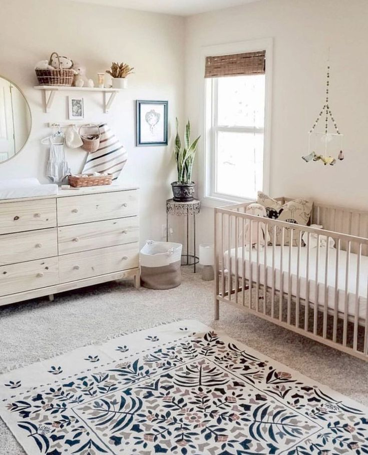 Home And Decore Ideas Natural Raw Oak An Achromatic Color Scheme Does It Every Garden Decorations Garde Nursery Baby Room Baby Room Design Baby Room Decor