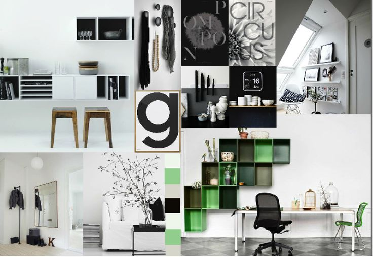 Future home inspiration #Blackandwhite #Green #Montana #Hagedornhagen #Playtype #Combinedesign #stylemap