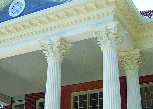 8 best afco fiberglass and aluminum columns images on for Fluted fiberglass columns