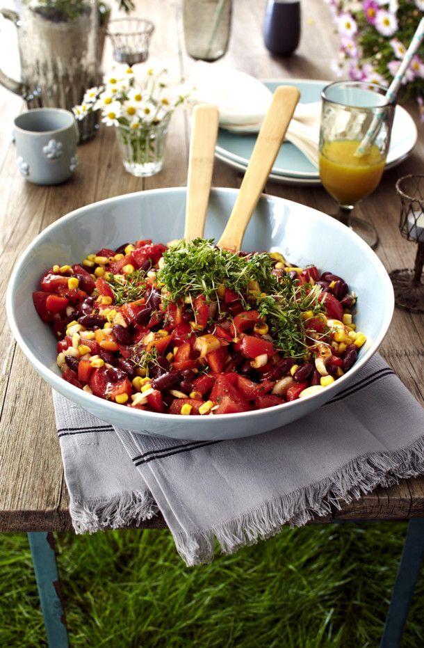 Unser beliebtes Rezept für Feuriger Bohnen-Mais-Salat und mehr als 55.000 weitere kostenlose Rezepte auf LECKER.de.