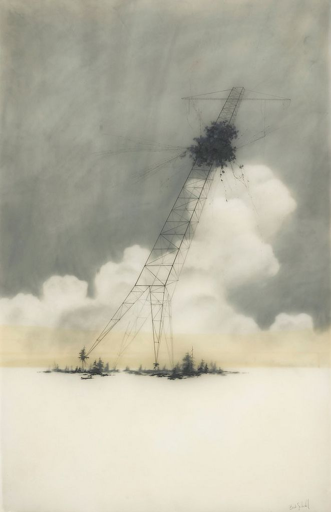 brooks salswedel: Brooks Salswedel, Towers, Artists Work, Brooks Salzwedel, Illustration, Portfolio, Hifructo Magazines, Billy Galleries, Brooks Shane Salzwedel