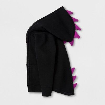 Baby Girls' Sweatshirt Halloween Layering - Cat & Jack Black 12M, Size: 12 Months