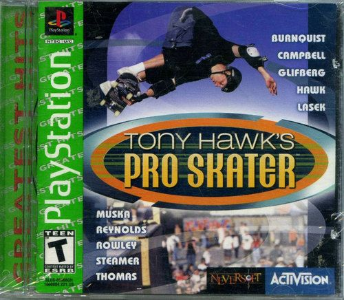 Complete Tony Hawk's Pro Skater Greatest Hits - PS1 Game