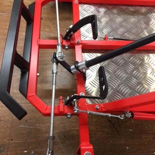 Deluxe Upgrade Live Axle Go-Kart Kit - Rahmen nicht im Lieferumfang enthalten