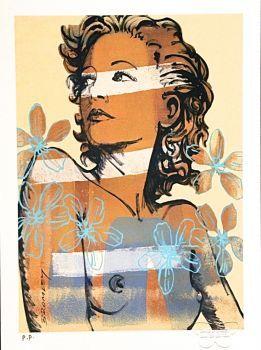 DAVID BROMLEY, Hillary, Printers Proof Silkscreen Artist: Bromley, David Artwork title: Charlotte Price: $425