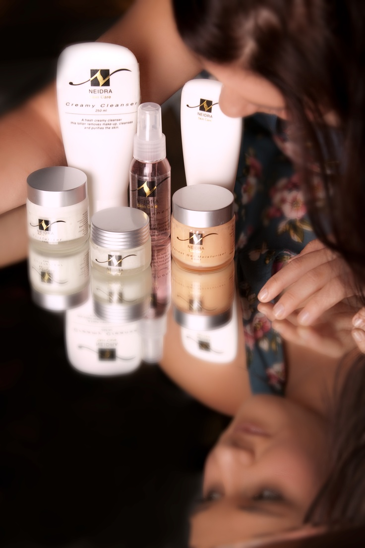 Based on Aromatherapy oils and Natural Herbs, perfect for all skin types Free from chemicals   www.neidra.com