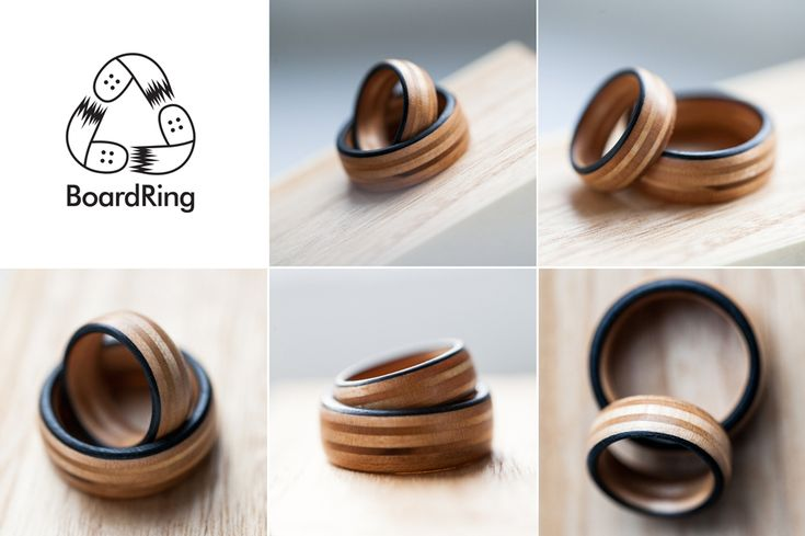 BoardRing - goods from recycled skateboards