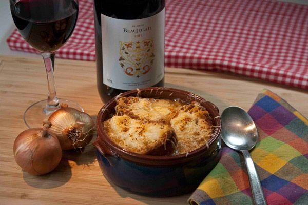 Γαλλική κρεμμυδόσουπα σε αυθεντική συνταγή