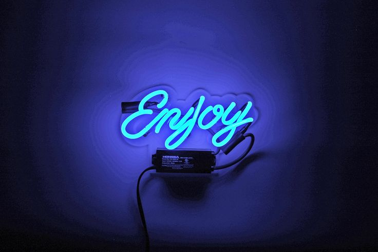 Perfect for nearly any setting, because you can enjoy something almost anywhere - Enjoy... Our neon glass is handcrafted and filled with a mixture of noble gasses, then electrified to create that icon