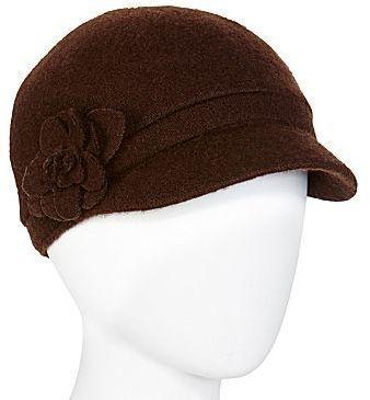 €21, Casquette plate brune foncée jcpenney. De jcpenney. Cliquez ici pour plus d'informations: https://lookastic.com/women/shop_items/108292/redirect