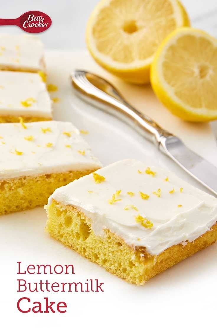 Lemon Buttermilk Cake Recipe In 2020 Dessert Recipes Easy Cake Mix Ingredients Sweet Recipes