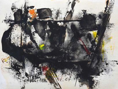 Engel-Pak, 1964, Technique Mixte, 24 x 32 cm, Courtesy Galerie Intuiti