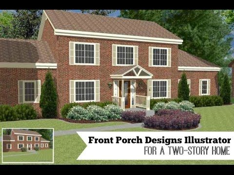 141 Best Images About Porch Before And Afters On Pinterest