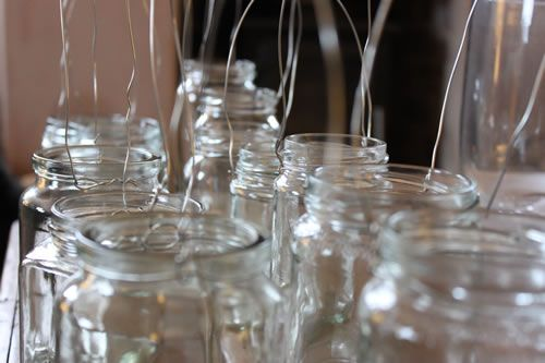 Homemade jam jar lanterns – a 'how to' By The Natural Wedding
