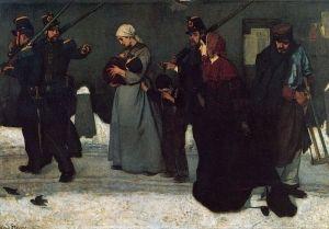 The Hunters of Vincennes - Alfred Émile Léopold Stevens - The Athenaeum