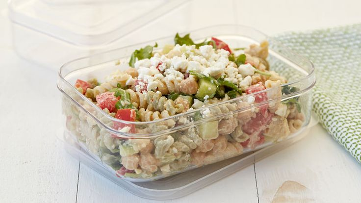 Create fresh deli-like salads in minutes with Betty Crocker™ Suddenly Pasta Salad™!