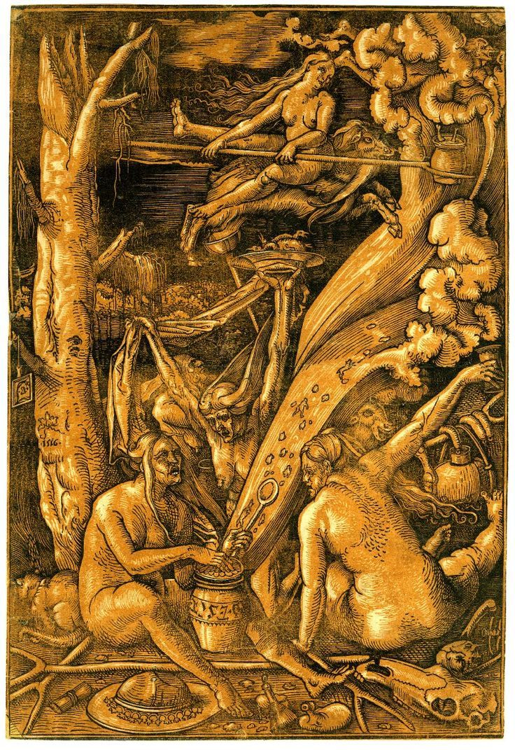 Hans Baldung Grien Witches Sabbath