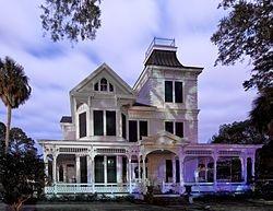 New Iberia, Louisiana - 1880's Victorian home