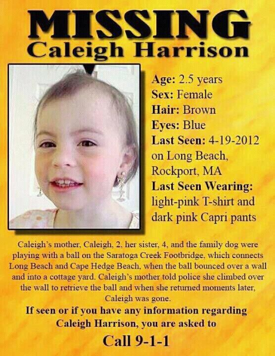 missing people | her missing persons poster is below it can t hurt to keep her picture ...