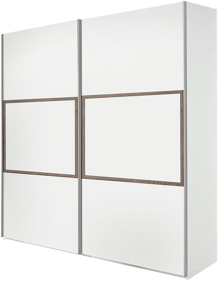 Breite 252 cm oder 302 cm. Beide Breiten mit 2 Türen. Griffleisten und Kleiderstangen aus Metall. Innendekor ahornfarben.  Maße (T/H): 67/213 bzw. 235,5 cm.  Alle Maße sind ca.-Maße.  Zubehör: für Breite 252 cm: Einlegeböden Artikel-Nr. 884354, 888181, Schubkasteneinsatz Artikel-Nr. 462378, Selbsteinzug Artikel-Nr. 887227,  , für Breite 302 cm: Einlegeböden Artikel-Nr. 888181, Schubkasteneins...