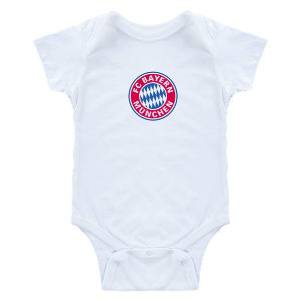 Bayern Munich Logo Baby Onesie     $16.99   Holiday Gift & Stocking Stuffer ideas for the Bayern Munich fan at WorldSoccerShop.com