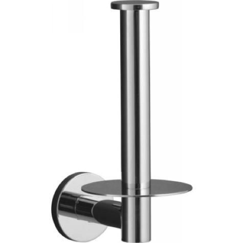 Kohler's Stillness Toilet Paper Holder is $67.49 in polished chrome (also available in brushed nickel) at eFaucets.