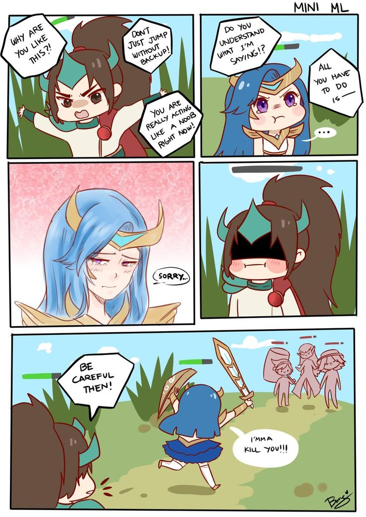 "Mobile Legends on Twitter: ""Only cowards need back up! #MLBBFanArt ..."