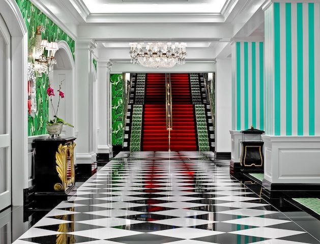 Greenbrier Hotel Located In White Sulphur Springs West Virginia With Interiors Originally Designed By Dorothy Draper Since The Has Been