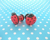6g 6 Gauge Plug Earrings for Stretched Ear Lobes by NeatPotato