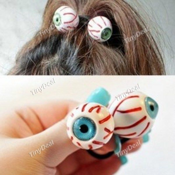 Eyes Bloodshot Casual Hair Band Hair Rope Accessories DTH-290666 http://www.tinydeal.com/eyes-bloodshot-casual-px2536e-p-122044.html