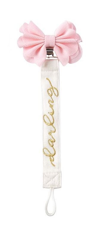 Mud Pie Pacy Clip - Darling Bow | Spring 2016 MudPie Baby Collection at SugarBabies