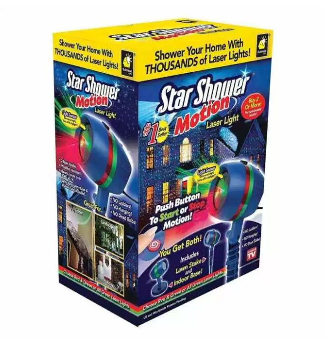 Star Shower Laser Lights: 2017 Review of Motion Lights Projector