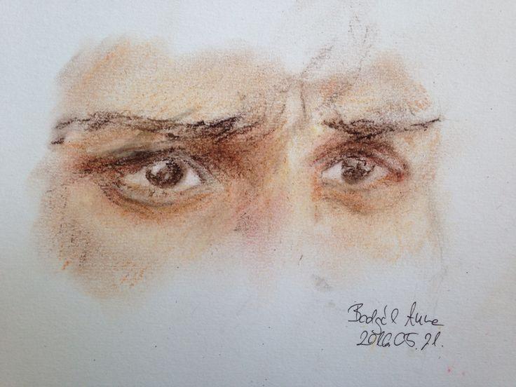 #eyes #pastel #drawing #sketch