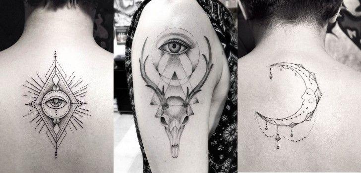 As tatuagens geométricas, para além da sua beleza e simplicidade, também possuem um significado profundo.
