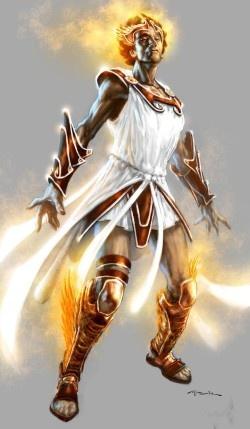 Hermes era, na mitologia grega, um dos deuses olímpicos, filho de Zeus e de Maia, e possuidor de vários atributos. era deus da fertilidade, dos rebanhos, da magia, da divinação, das estradas e viagens, mensageiro dos deuses e patrono da ginástica, dos ladrões, dos diplomatas, dos comerciantes, da astronomia, da eloquência e de algumas formas de iniciação, além de ser o guia das almas dos mortos para o reino de Hades. Hermes foi assimilado ao deus Mercúrio, sofreu um sincretismo também com…