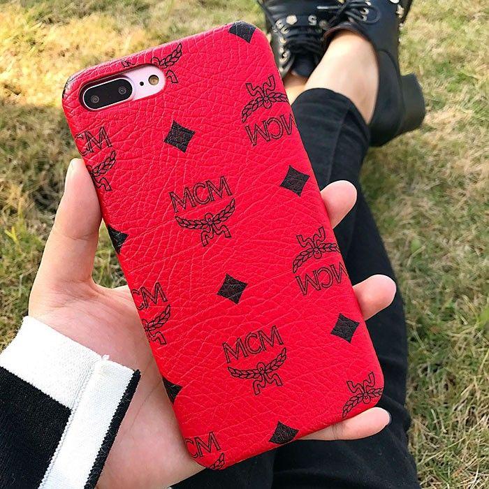wholesale dealer 2b73e 0f177 MCM Claus iPhone 7/7 Plus Case in Red   MCM IPHONE CASES   Iphone ...