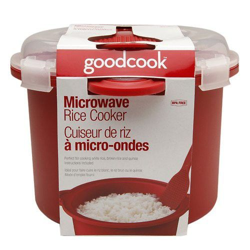 Good Cook Microwave Rice Cooker with Cover 1 Ea
