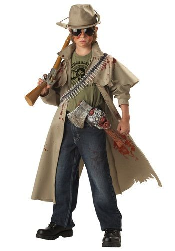 Child Zombie Hunter Costume - Tom wants