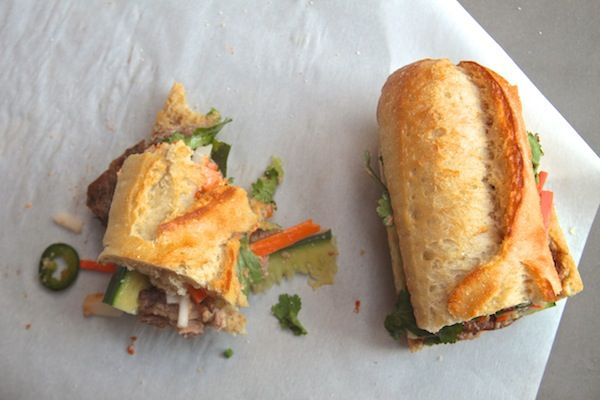 Banh Mi Sandwich // via @Tracy Benjamin