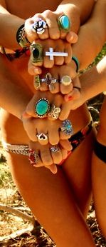 love me some rings!: Cool Rings, Big Rings, Summer Styles, Fashion, Love Rings, Jewelry, Crosses Rings, Accessories, Summer With Friends