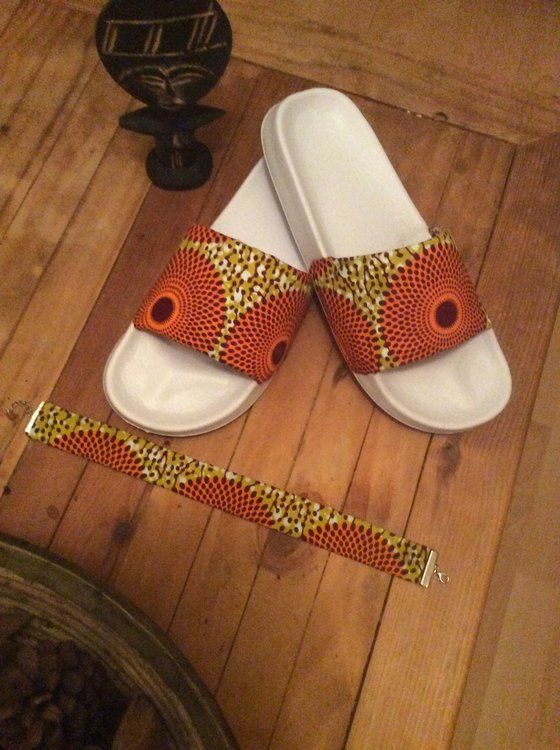 Image of Amma- Ankara Print Choker and Sliders Set