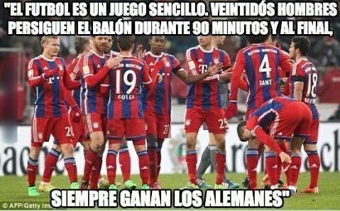 El Bayern reafirma el viejo dicho de Gary Lineker.